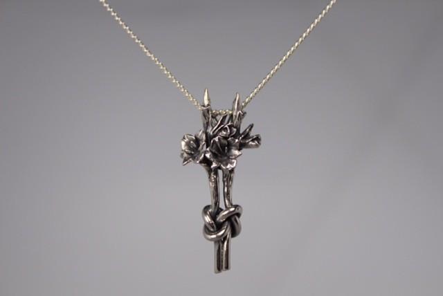 Zilveren gladiool VERBROEDERING Nr 8